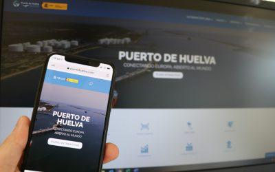 La Autoridad Portuaria de Huelva presenta una nueva web más accesible e intuitiva