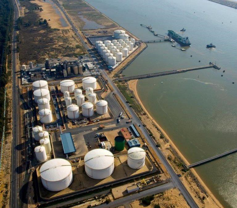 El Puerto de Huelva se consolida como referente nacional en tráficos de productos energéticos sostenibles