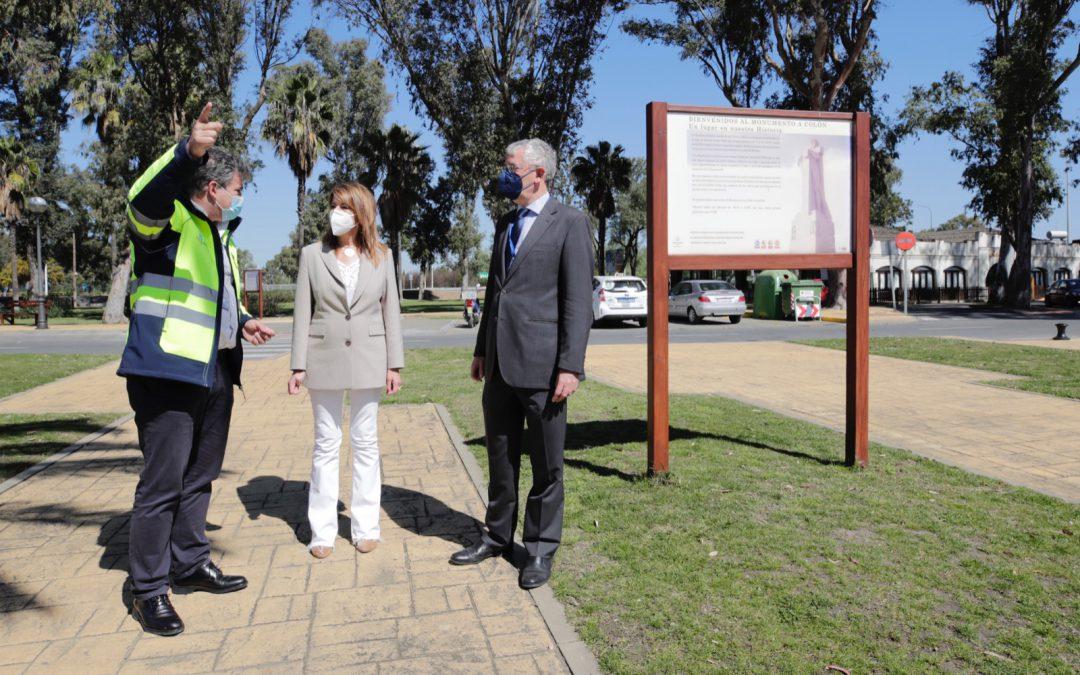 La Autoridad Portuaria de Huelva remodelará el entorno del Monumento a Colón