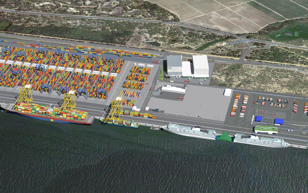 El Muelle Sur del Puerto de Huelva, plataforma multimodal del suroeste europeo