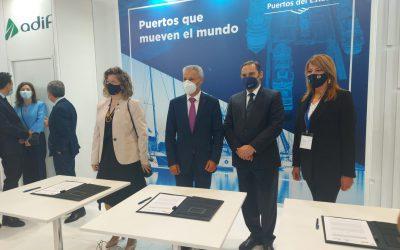 El puerto de Huelva invertirá 11 millones de euros en ampliar la capacidad de la línea férrea Huelva-Sevilla