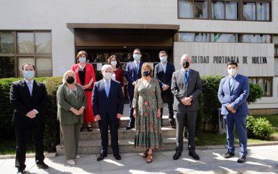 La Autoridad Portuaria de Huelva firma un protocolo general de actuaciones con el SAS para desarrollar una Plataforma Logística Sanitaria en la ZAL