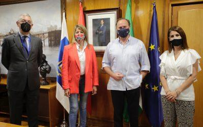 El Puerto de Huelva y el Consejo Social de la Universidad de Huelva se reúnen para abordar líneas de colaboración conjunta