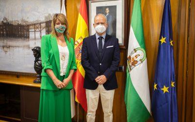 El Puerto de Huelva recibe la visita del presidente del Puerto de Sines