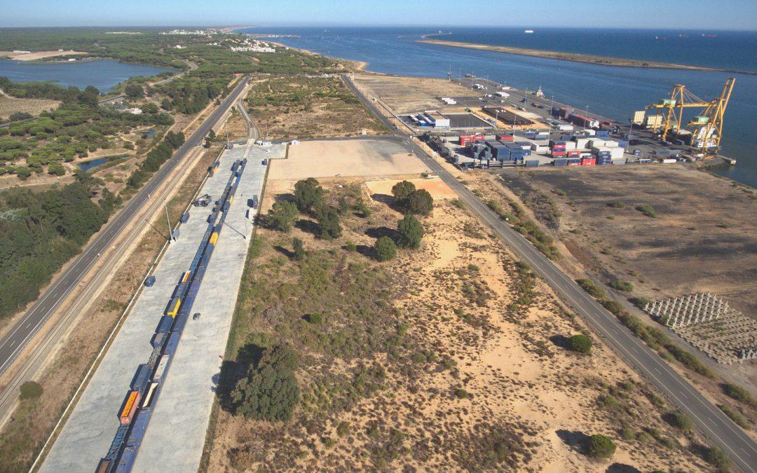 La Comisión Europea aprueba a través del Mecanismo Conectar Europa un proyecto del Puerto de Huelva para mejorar las infraestructuras ferroviarias con su zona de influencia
