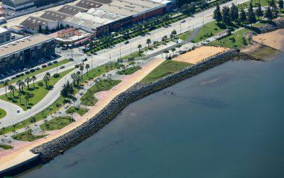 El Paseo de la Ría del Puerto de Huelva acogerá en el extremo sur unas instalaciones para deporte, restauración, y ocio