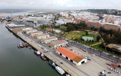El Puerto de Huelva comenzará en el mes de septiembre el derribo de la antigua lonja y posteriormente continuará con las naves de exportadores que estén libres