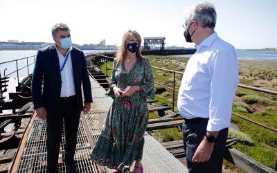 Cinco empresas aspiran a ejecutar las obras del proyecto de rehabilitación del Muelle de Tharsis