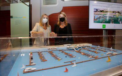 El Puerto de Huelva presenta la Marina del Odiel, cuyas obras se iniciarán previsiblemente antes de final de 2021