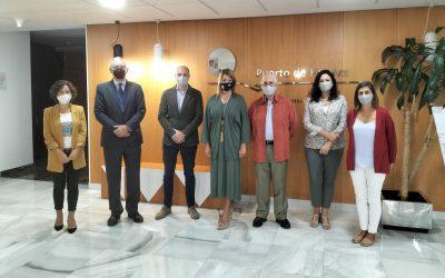 El Puerto de Huelva y el Colegio de Arquitectos sellan alianzas de colaboración para el futuro