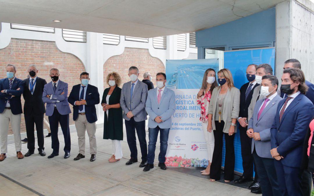 El Puerto de Huelva crea sinergias con exportadores y operadores logísticos para impulsar el crecimiento del sector agroalimentario y aumentar sus exportaciones desde el puerto onubense