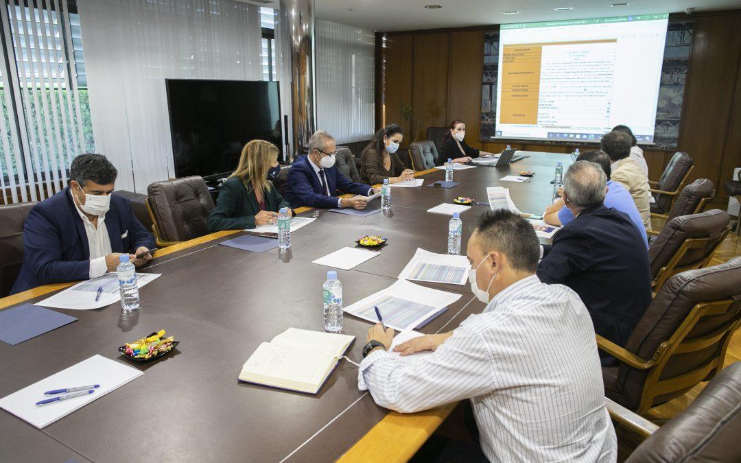 La Comisión Puerto-Ciudad del Puerto de Huelva se reúne para valorar 106 proyectos presentados a la Convocatoria Puerto-Ciudad 2021