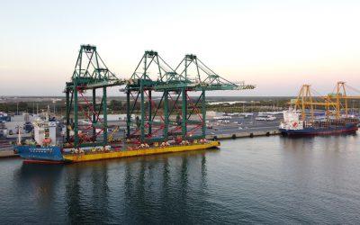 El Puerto de Huelva saca a licitación pública la construcción y explotación de una terminal marítima de contenedores y mercancía general en el Muelle Sur